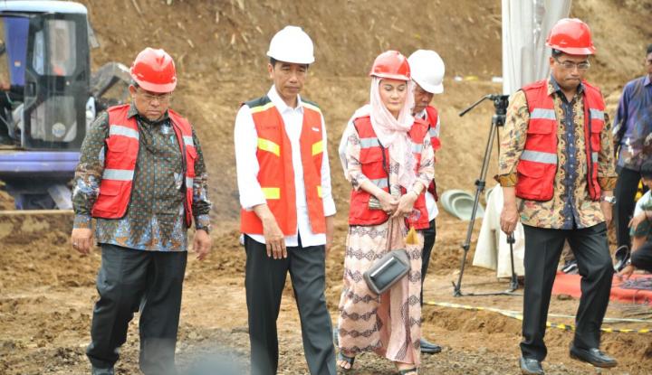 Foto Berita Besok, Jokowi Resmikan Tol Trans Sumatera Bakauheni