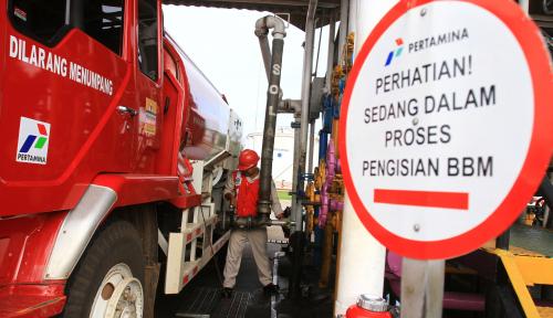 Foto Pertamina MOR I Stok BBM pada Arus Balik