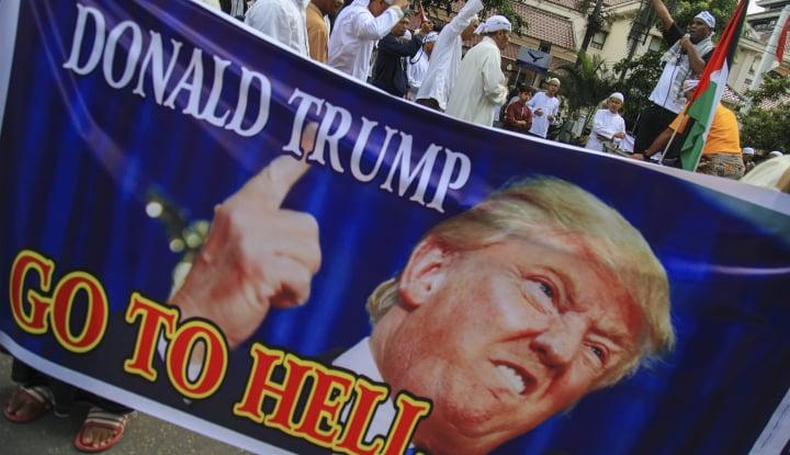 Foto Berita MUI: Trump Tak Peka Soal Perasaan Umat Islam