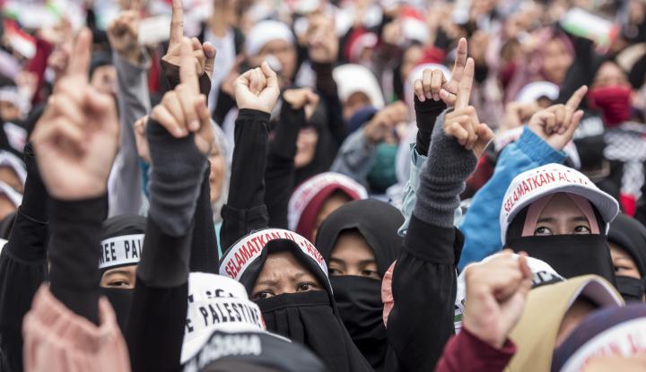 Foto Berita Aksi Bela Palestina Berlangsung Damai, Wakapolri: Terima Kasih