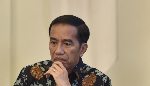Foto Hasil Survey: Masyarakat Minta Jokowi Pimpin Dua Periode, Setuju?