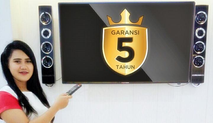 Foto Berita Bebas Galau, Polytron Perkenalkan TV LED Garansi Lima Tahun