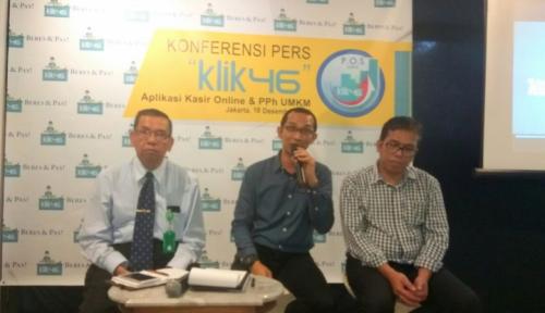 Foto Klik46 Bantu UMKM Urus Pajak dari Telepon Genggam