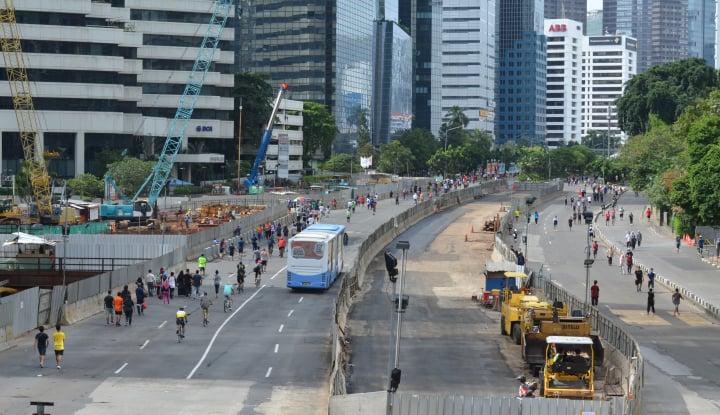 Foto Berita Anda Pengendara Jakarta? Kawasan Sudirman-Thamrin Ditutup Sore Nanti