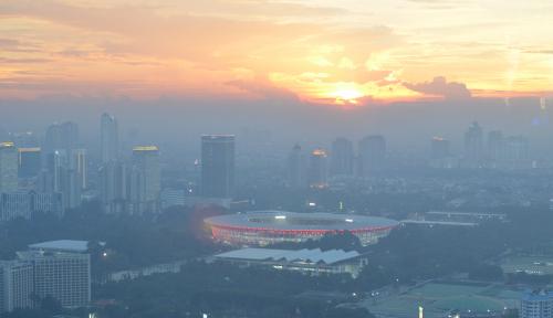 Foto Kementerian PUPR Klaim Renovasi Gelora Bung Karno Selesai 100%