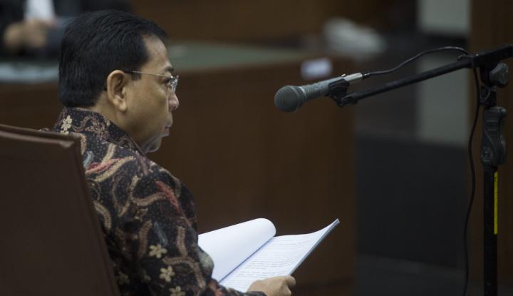Foto Berita Isi Nota Keberatan Novanto, KPK Anggap Lagu Lama
