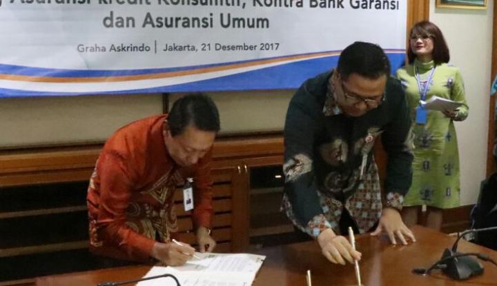 Foto Berita Hari Ini, Askrindo Teken Tiga Kerja Sama dengan Bank Banten