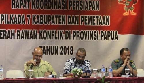 Foto KPU Papua: Ada 3 Daerah yang Paling Rawan Konflik
