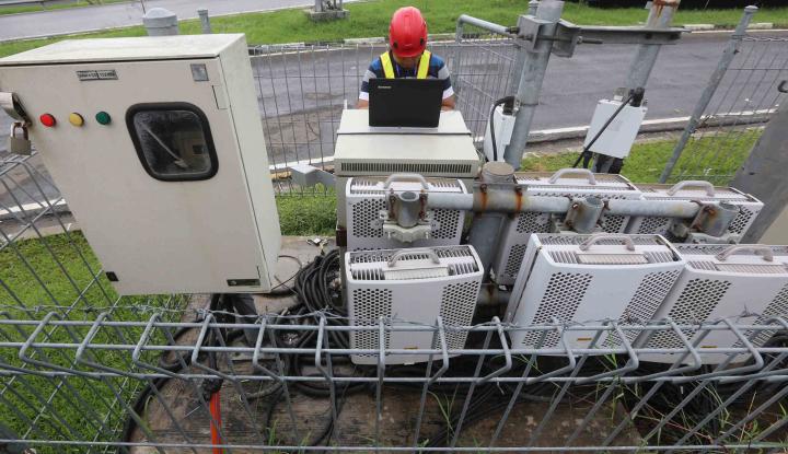 Foto Berita Perluas Sinyal di Daerah, XL Operasikan BTS di NTB