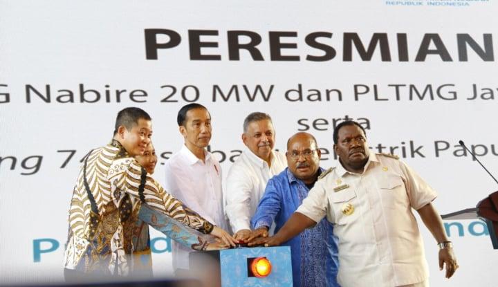 Foto Berita Jokowi Akui Bangun Listrik di Papua Sulit,