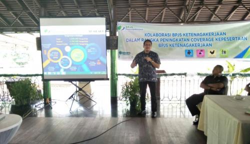 Foto BPJS Ketenagakerjaan-BPJS Kesehatan Sinergi Perluas Kepesertaan di Sumbagut