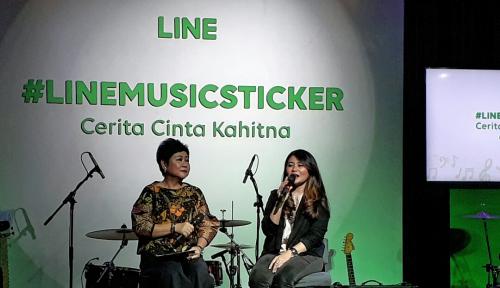 Foto Cerita Cinta Kahitna Kini Jadi Stiker LINE