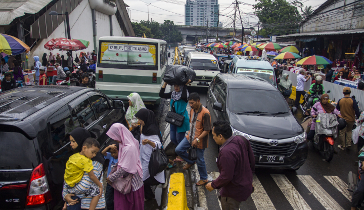Foto Berita Pasar Tanah Abang Kumuh, Solusi Pemprov DKI Tak 'Cerdas'