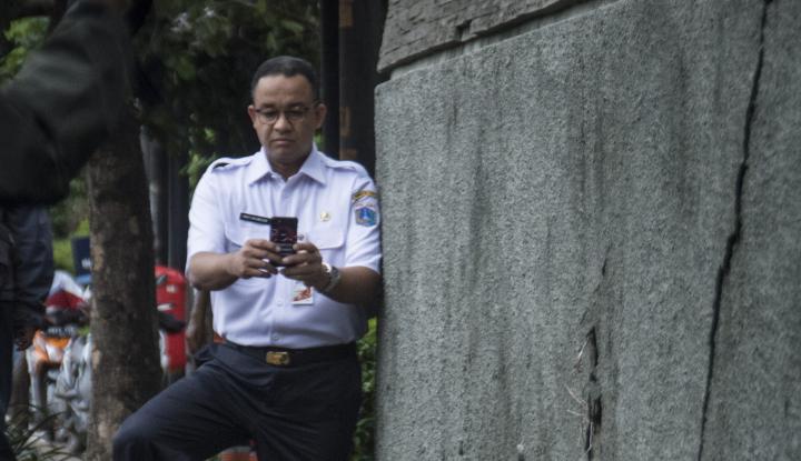 Foto Berita Anies: Semua yang Ada di Jakarta Harus Taat Aturan