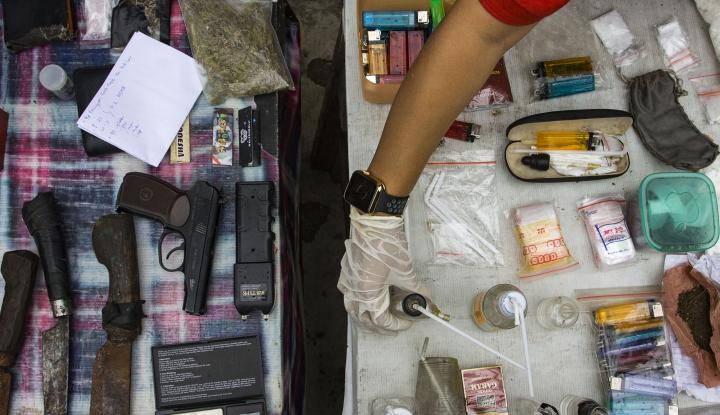 Foto Berita Pengedar Narkoba Diciduk di Rumahnya