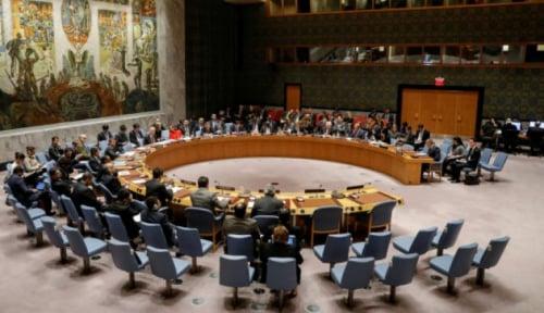 Foto Serangan AS ke Suriah, Indonesia Diminta Desak PBB Adakan Sidang Darurat