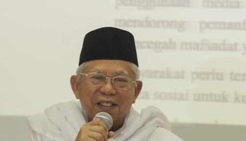 Foto Jauh Dari Kesan Serius, Kuliah Ma'ruf Amin Malah Jadi Hiburan Peserta