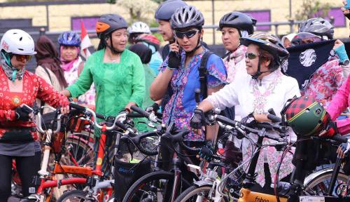 Foto Polres Minahasa Gelar Fun Bike