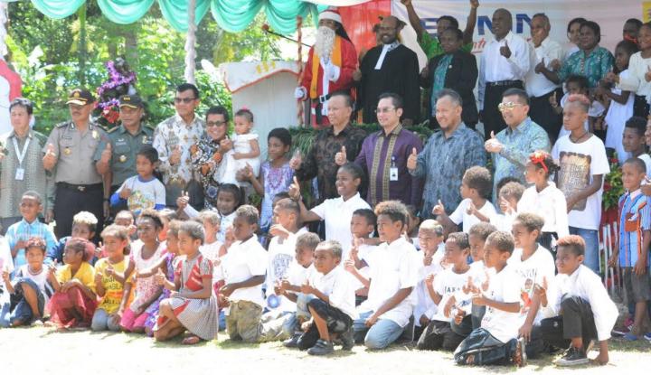 Foto Berita Natal, Pelindo IV Sumbang Rp50 Juta untuk Gereja di Manokwari