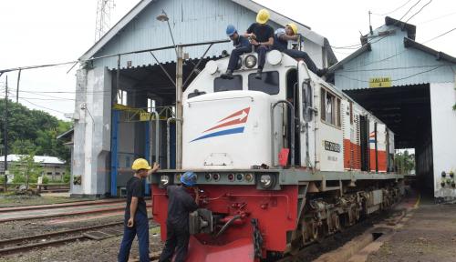 Foto Arus Balik di Stasiun Malang Meningkat