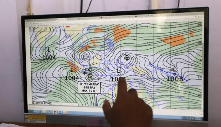 Awas! Waspadai Gelombang 4 Meter di Sulut - Warta Ekonomi