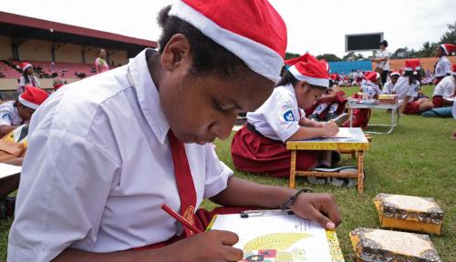 Foto Dinkes Banjarbaru Berikan Vaksin DIfteri ke Sekolah