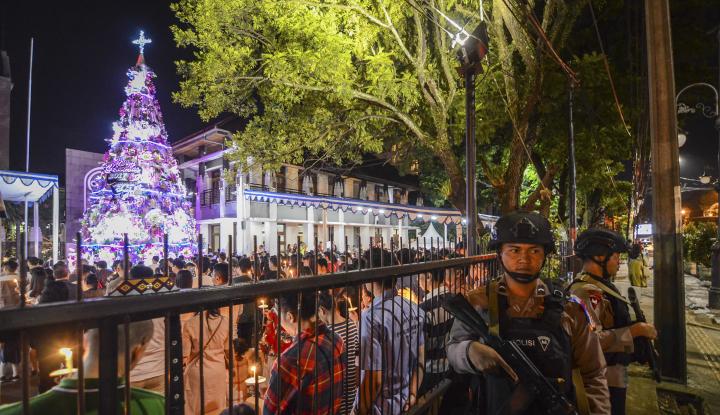 Polri Jamin Keamanan Natal dan Tahun Baru 2019 - Warta Ekonomi