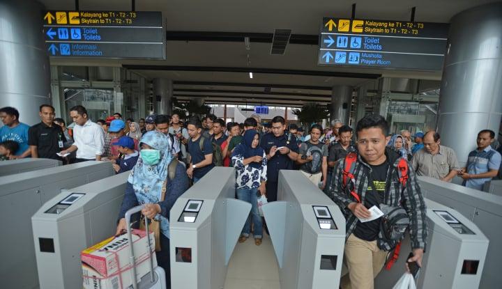 Cara Naik Kereta Api ke Bandara Soekarno-Hatta - Warta Ekonomi
