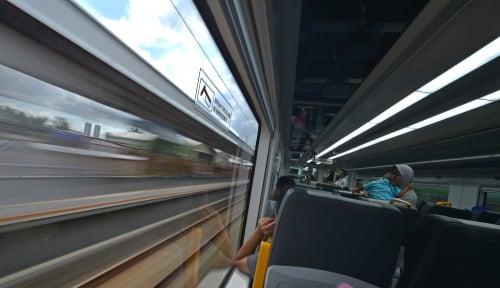 Foto Kereta Bandara Soetta Resmi Beroperasi untuk Masyarakat Umum