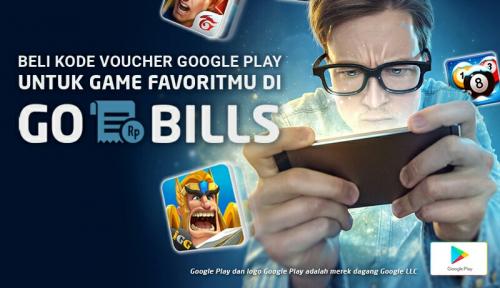 Foto Mudahkan Pelanggan, Go-Jek Perkenalkan Pembelian Voucer Google Play