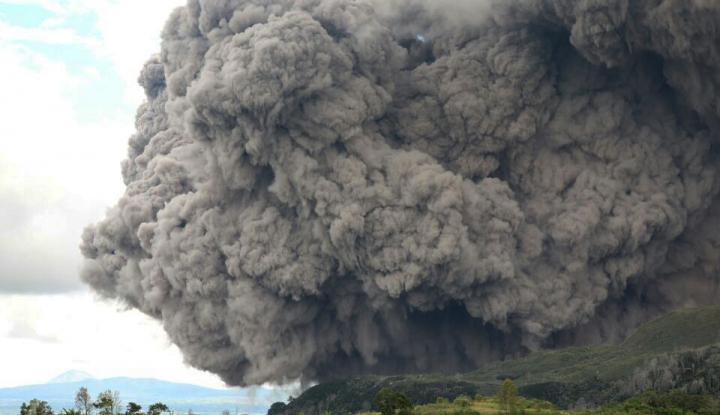 Foto Berita Pasca Erupsi Sinabung, Pasokan Sayur di Medan Berkurang