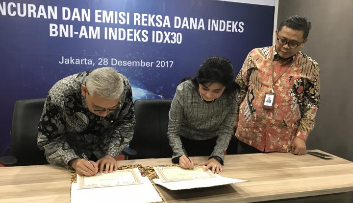 Foto Berita Beri Pilihan ke Investor, BNI Asset Luncurkan BNI AM Indeks IDX30