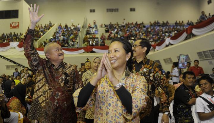 Foto Berita Di Sumsel, Menteri BUMN Serahkan 5.000 Sertifikat Tanah Gratis