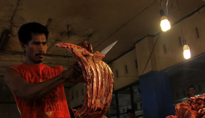 Foto Berita Tahun Baru, Harga Daging di Singkawang Tembus Rp125 Ribu/Kg