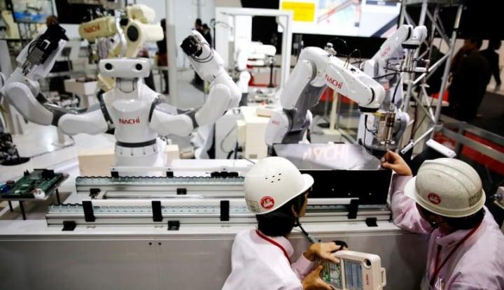 Foto Berita Permintaan Mesin di Jepang Meroket 11% pada Juli