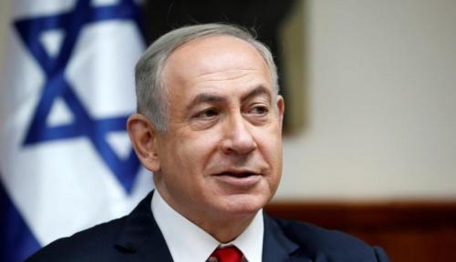 Foto Netanyahu: Israel Akan Terus Gempur Suriah