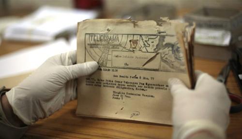 Foto Telegram: Layanan Abad ke-19 Berakhir di Belgia