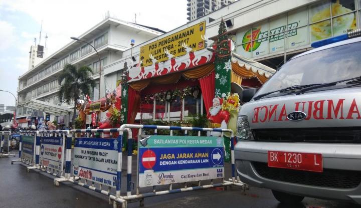 Foto Berita Libur Akhir Tahun, Dinkes Medan Buka 13 Posko Kesehatan