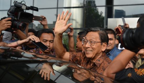 Foto Waduh! Mantan Wakil Presiden Diperiksa KPK?