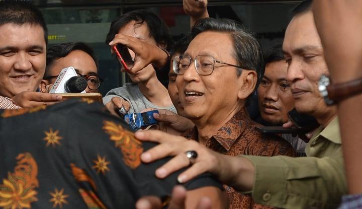Foto Berita JPU Hadirkan Boediono dan Todung Mulya Lubis