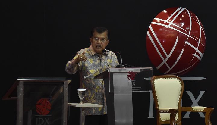 Foto Berita 2018, JK Harapkan Laju Perekonomian Makin Kencang