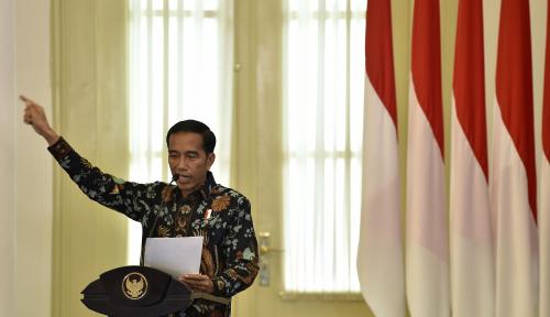 Foto Tahun Politik, Jokowi: Apa Mau Nunggu Terus?