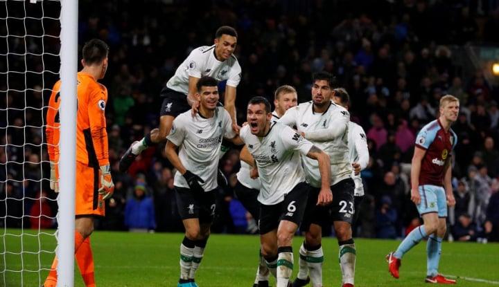 Foto Berita Babak I Semifinal Liga Champions, Liverpool Unggul 1-2