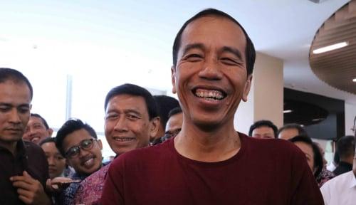 Foto Puji Jokowi, Netizen: Salam Dua Periode