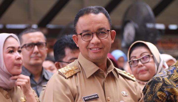 Foto Berita Dibilang Tak Pernah Kunjungi Bantargebang, Reaksi Anies Begini...