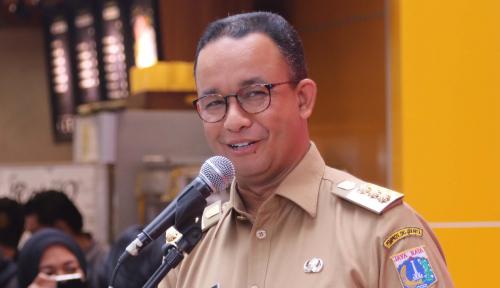 Foto Satu Tahun Jakarta Dibawah Anies, Gerindra: Ayo Percepat Serapan Anggaran