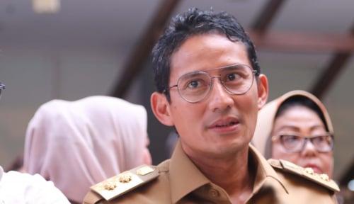 Foto Sandiaga Minta Erick Thohir Akomodir UMKM Selama Asian Games