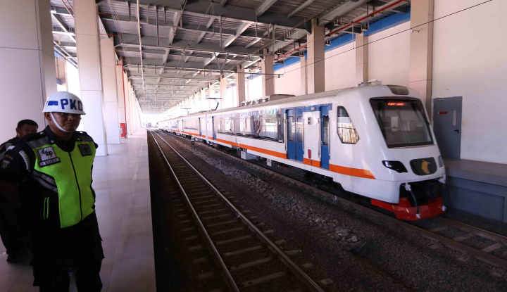 Foto Berita Keren, Sistem Parkir di Stasiun KA Bandara Gunakan Sidik Jari