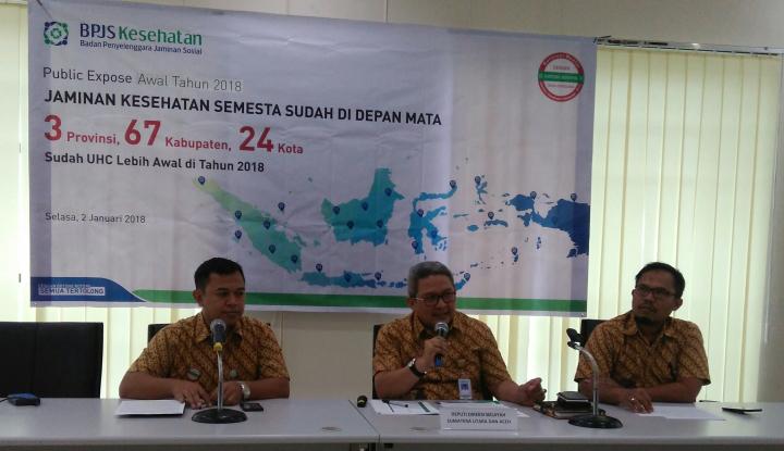 Foto Berita Program JKN-KIS di 4 Kabupaten Sumut Capai UHC
