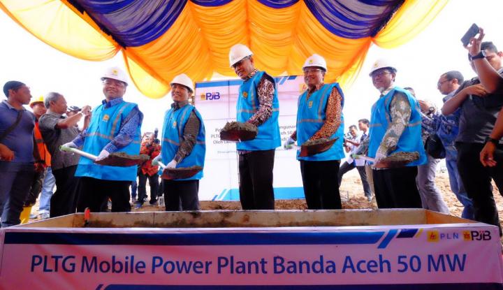 Foto Berita Perdana, PJB Bangun MPP PLTG di Sumatera